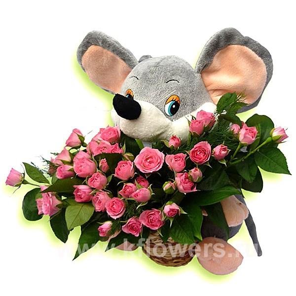 ЦВЕТЫ -букет роз (600x600, 180Kb)