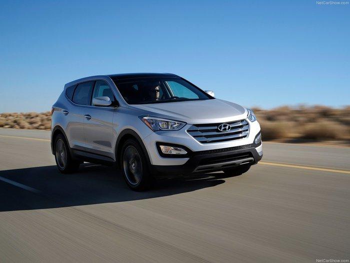 Фото Hyundai Santa Fe 2012.