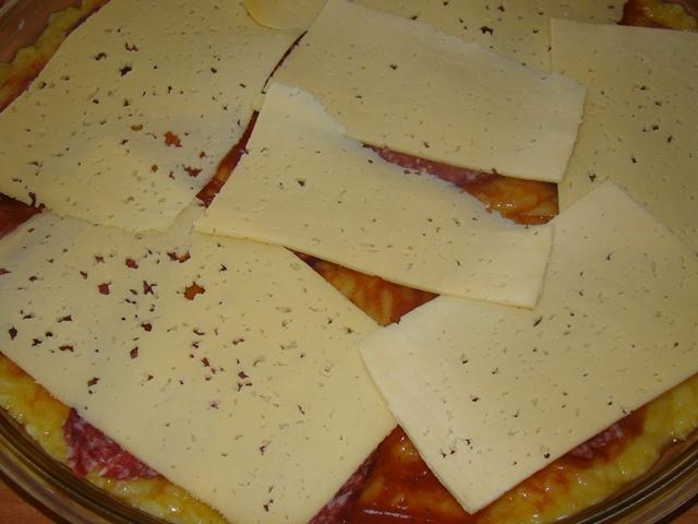 Картофельная….почти пицца