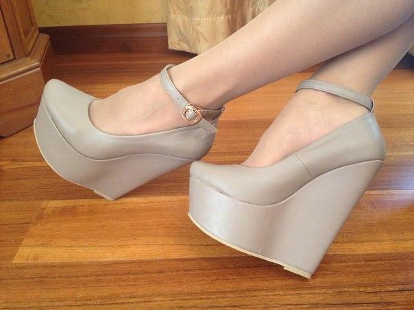 Туфли серые 2013