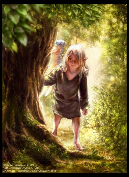 Эльфы и гномы своими руками