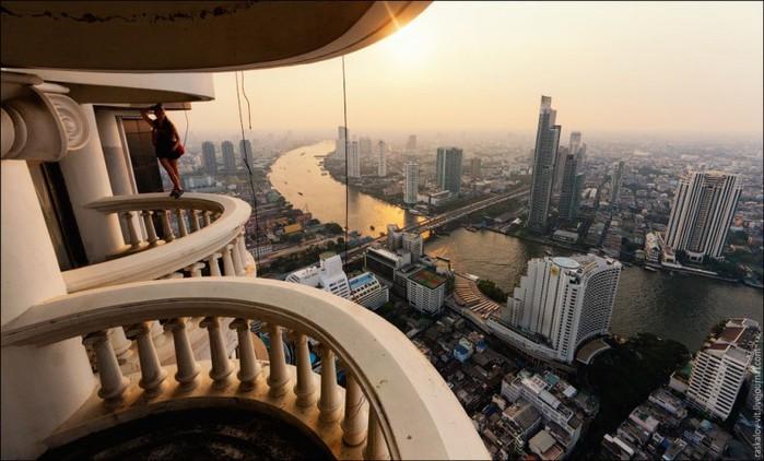 Бангкок с высоты небоскребов