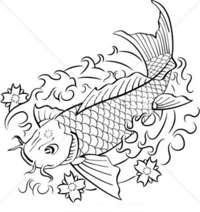 рисунки рыбок: