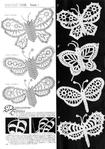 Коллекция узоров. Ирландское кружево: мотивы, бабочки.