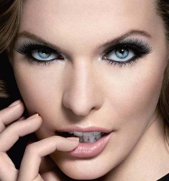 Голубые глаза, макияж 2013.