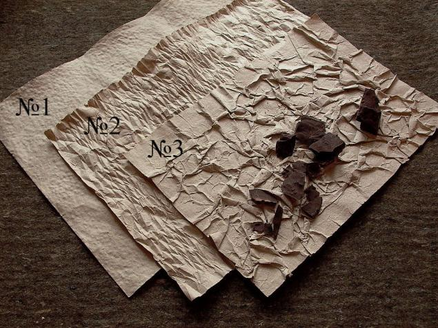 Как сделать фактуру бумаги