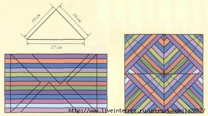 фрагмент для шитья подушки из лоскутов. наволочки в технике пэчворк.