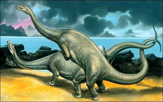 For a meteoric, or other reason, we know that the dinosaurs died out
