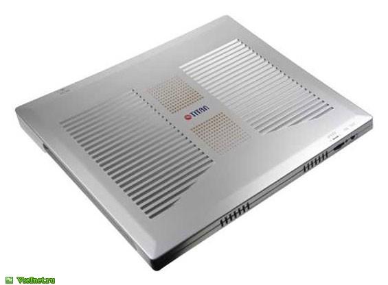 Теплоотводящая подставка под ноутбук Titan TTC-G1TZ, пластик, 4 вентилятора, USB (565x416, 42Kb)