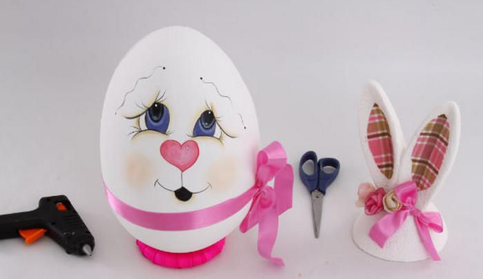 пасхальный заяц из яйца роспись (11) (700x404, 241Kb)