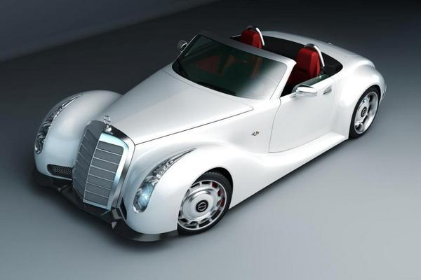 кабриолет Mercedes-bens 300 SC реплика фото (600x400, 24Kb)