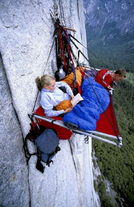 14  Скалолазы в Йосемитском парке, штат Калифорния, США (455x700, 390Kb)