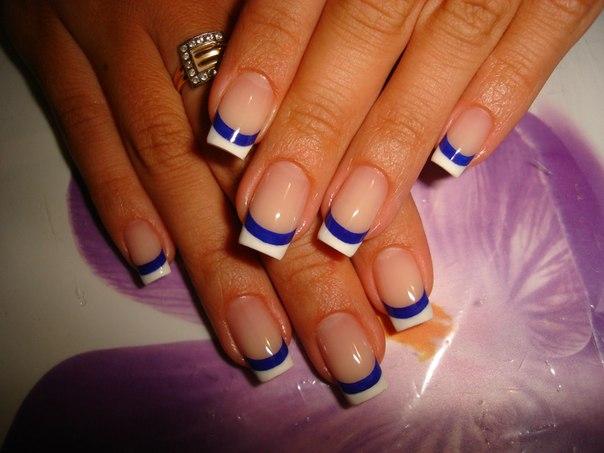 Теме модные ногти наращивание 2014 года