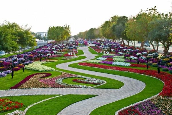 парк цветов  Al Ain Paradise фото 3 (600x401, 85Kb)