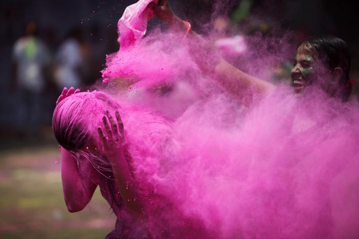 праздник холи в индии 5 (700x465, 82Kb)