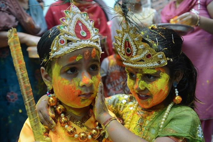 праздник холи в индии 11 (700x466, 164Kb)