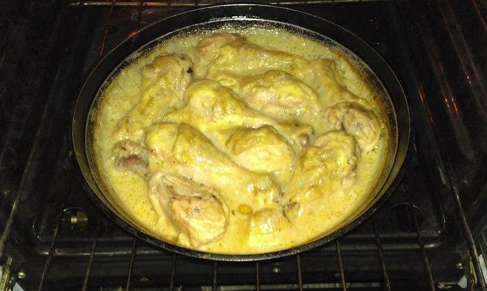 Куриная голень на сковороде с майонезом рецепт с пошагово в