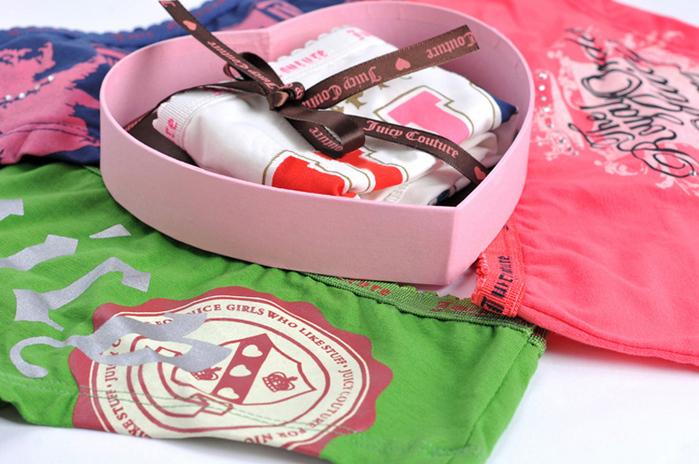 Подарочная упаковка для нижнего белья