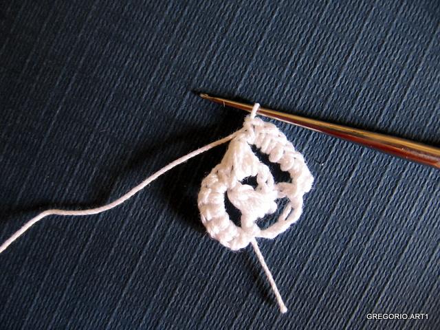 """钩针教程:""""有趣的丝带"""" - maomao - 我随心动"""