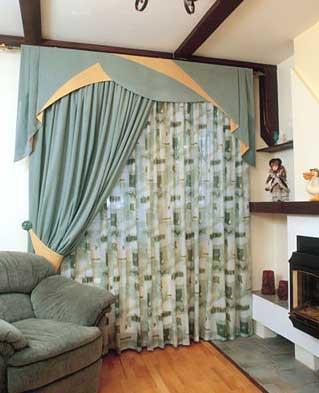 Как изменить шторы в комнате