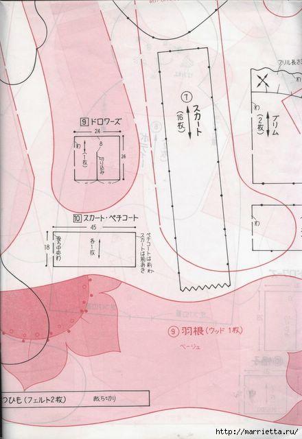японский журнал с выкройками кукол (95) (440x640, 119Kb)