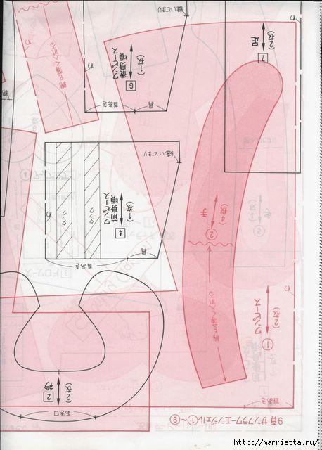 японский журнал с выкройками кукол (97) (458x640, 134Kb)