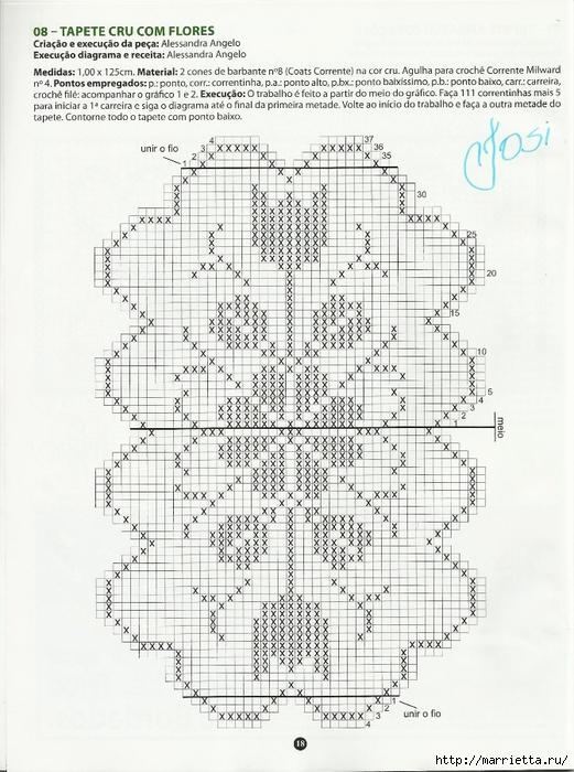 вязание крючком. коврики (15) (521x700, 285Kb)