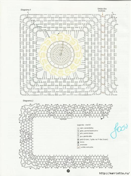 вязание крючком. коврики (17) (519x700, 278Kb)