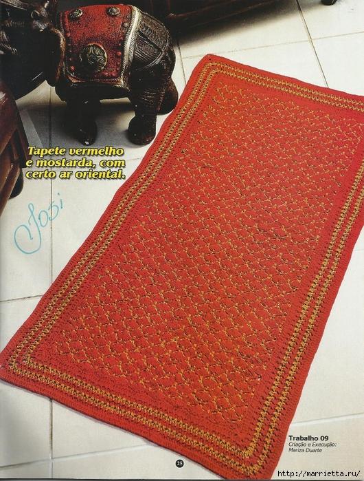 вязание крючком. коврики (22) (530x700, 419Kb)