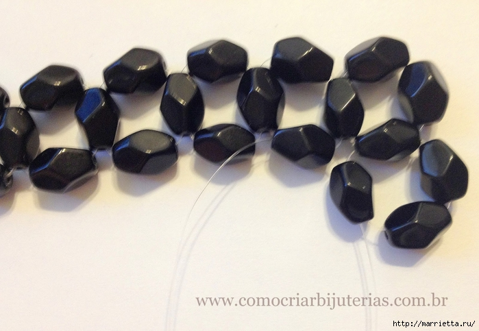стильное ожерелье из бисера и кристаллов. мастер-класс (12) (700x483, 214Kb) .