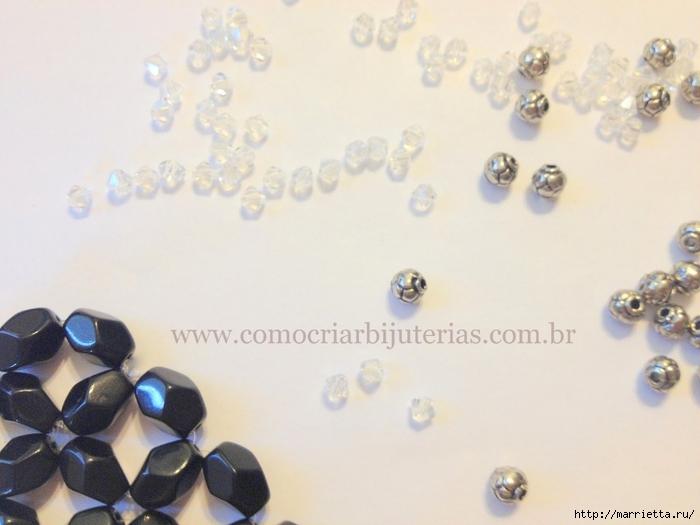 стильное ожерелье из бисера и кристаллов. мастер-класс (14) (700x525, 198Kb) .