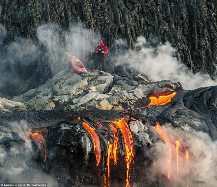 Pedro Oliva вулканическая лава фото 5 (700x603, 373Kb)