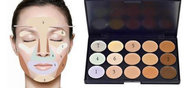 макияж как скрыть мешки под глазами