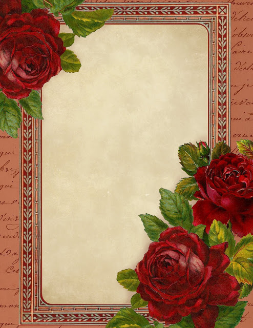 Red roses stationery ~ lilac-n-lavender (494x640, 116Kb)