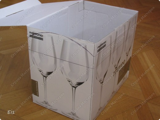 Сундук из коробки своими руками фото