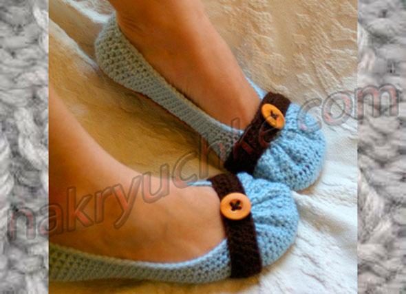Vyazanaya-obuv-baletki (590x427, 55Kb)