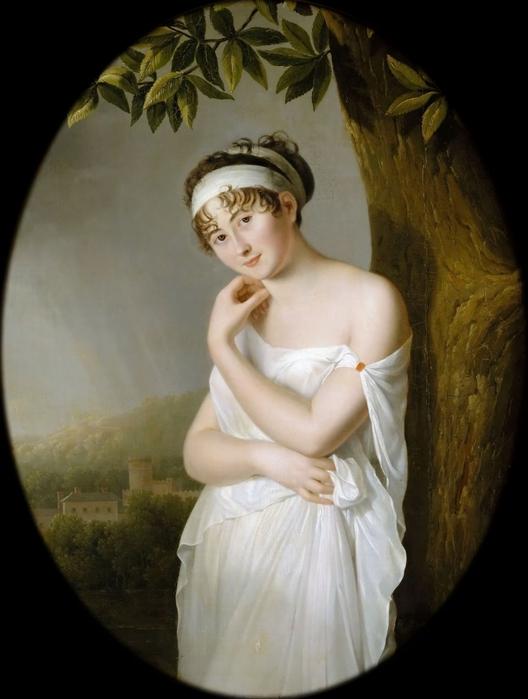 Элали Морен -- Мадам Рекамье (528x700, 185Kb)