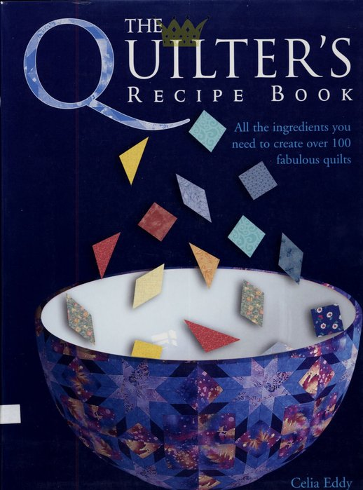 The Quilter's recipe book (518x700, 69Kb)
