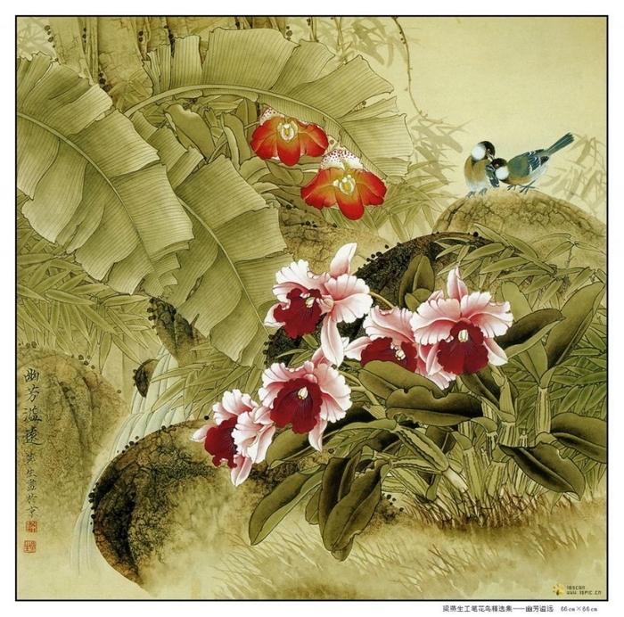 картины художницы Liang Yan Sheng (700x692, 395Kb)