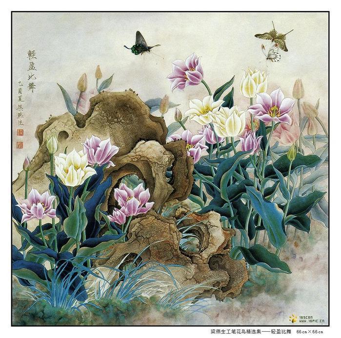 картины художницы Liang Yan Sheng 2 (700x693, 115Kb)