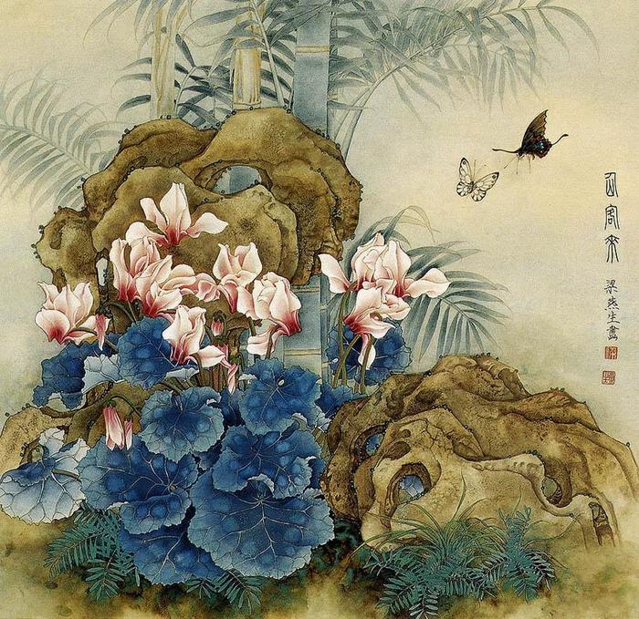 картины художницы Liang Yan Sheng 3 (700x679, 137Kb)