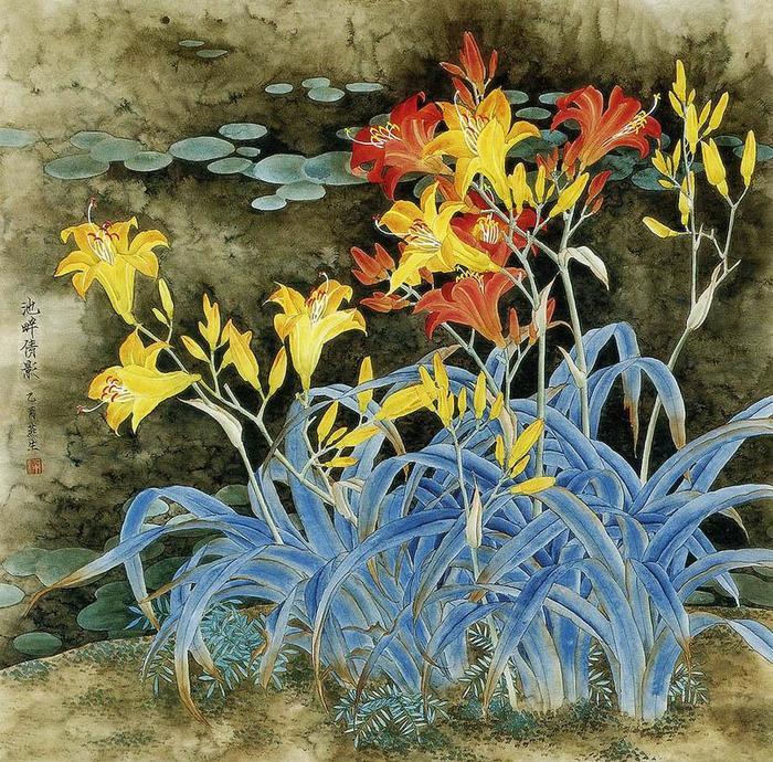 картины художницы Liang Yan Sheng 5 (700x690, 155Kb)