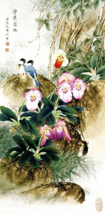 картины художницы Liang Yan Sheng 6 (343x700, 214Kb)