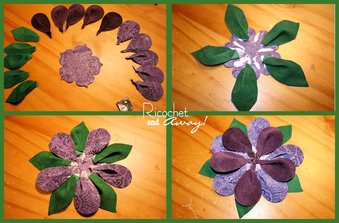 Как делать цветы из кожи своими руками