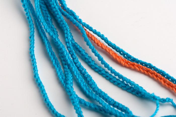 钩针编织一个美丽的装饰