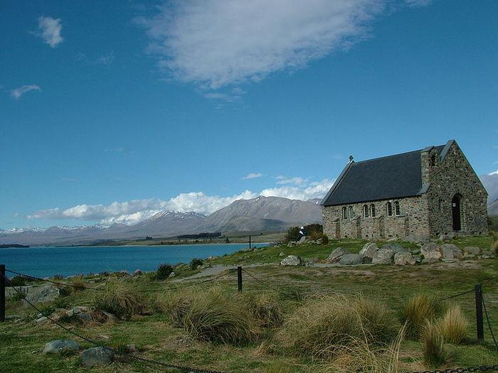 Церковь Доброго Пастыря новая зеландия фото (700x525, 67Kb)