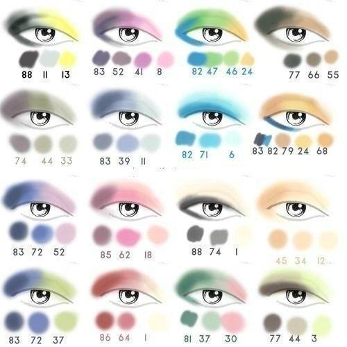 Техника макияжа глаз