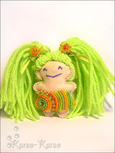 куколки с бисером от ириши.