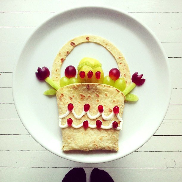 картины из еды Ида Скивенес 2 (612x612, 67Kb)