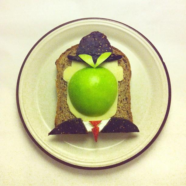 картины из еды Ида Скивенес 4 (612x612, 104Kb)